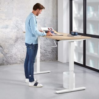 SH2 Slinger verstelbaar zit sta bureau