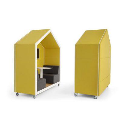 Bejot-Treehouse-akoestische-bank-dichte achterkant - 2 personen
