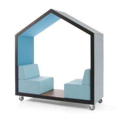Bejot treehouse speels ontwerp voor kort overleg op kantoor