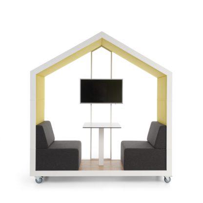 Bejot treehouse verplaatsbare open speelse overlegplek voor 2 personen
