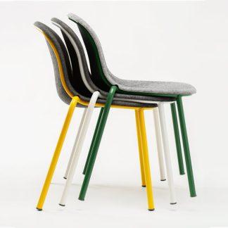 LJ 2 stapelbare stoel van PET Felt