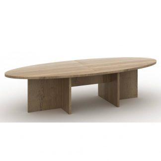Ellips vorm vergadertafel in Halifax uitgevoerd