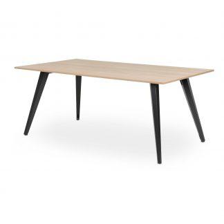 TABS tafel met donker onderstel