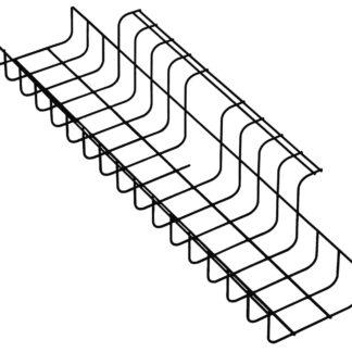 Kabelkorf voor wegwerken van kabels onder werkplekken