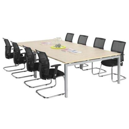 Vergadertafel 320 x 160 cm voor 8 tot 12 personen ook leverbaar in kleiner formaat