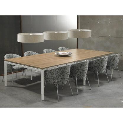 Vergadertafel 320 x 160 cm ook in vierkant leverbaar