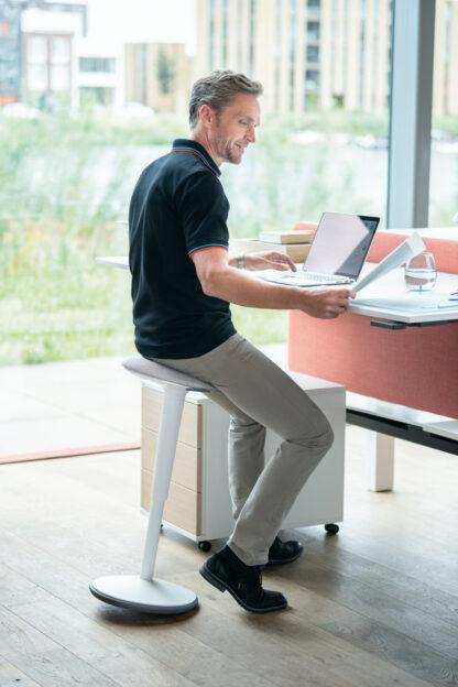 Stahulp ideaal inzetbaar bij een stazit werkplek