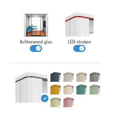 De Se Cube is door zijn vele variaties in kleur en mogelijkheden passend voor elke kantoorsfeer