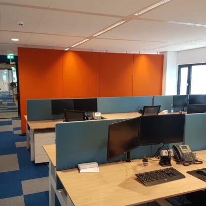 In vele kleuren leverbaar en dus passend in iedere kantoorsfeer