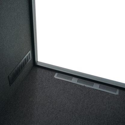 Meerdere ventilatoren zorgen in de Apod voor voldoende toevoer van gezonde lucht