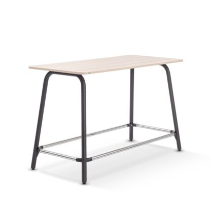 Sedus Se-Lab hoge tafel met zwart metalen onderstel