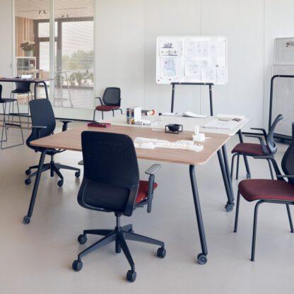Se lab tafels kunnen ook gekoppeld worden