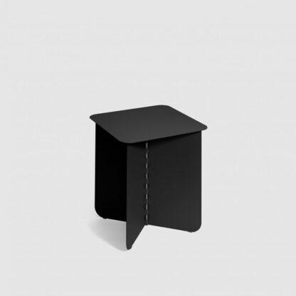 Puik bijzettafel - salontafel Hinge Medium Black